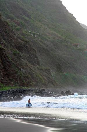 Tenerife, Spain: Teneriffa_Surfstrand_nahe_Tigaiga