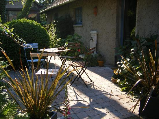 Le Jardin Sauvage : Des terrasses intimes...