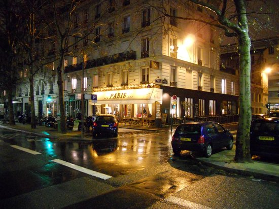 Home in Paris by Night
