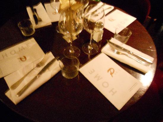 Home in Paris: mise en place d'une table