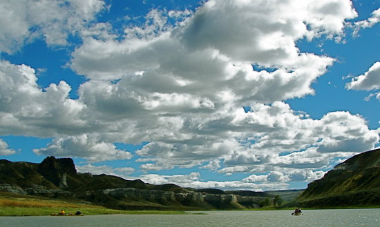 Adventures in Florida: Montana's big sky on the Missouri River