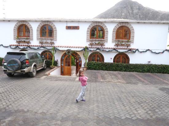 Rio Alto : en la entrada del hotel