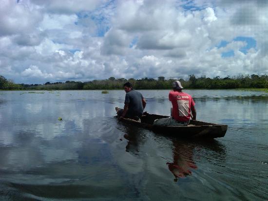 Amazon Refuge: Canoeing on remote Lake