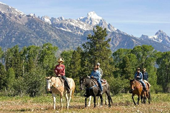 R Lazy S Ranch: Riding on the ranch property