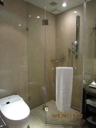 THE Tango Taipei NanShi: Shower cubicle and Japanese style bidet