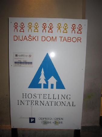 Hostel Tabor - Dijaski dom Tabor: The Tabor