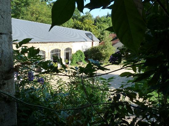 """Aux Jardins des Thevenets: Vue de la chambre """"Nature"""""""
