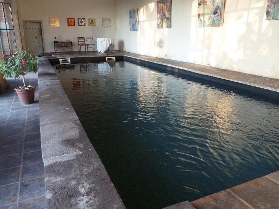 Aux Jardins des Thevenets: La piscine