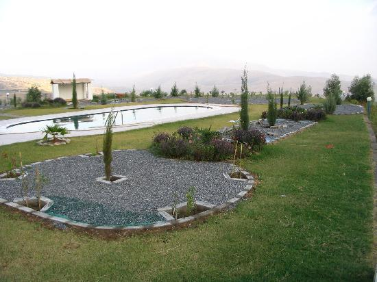 individual houses with private pool and garden in Aram Tourist Village