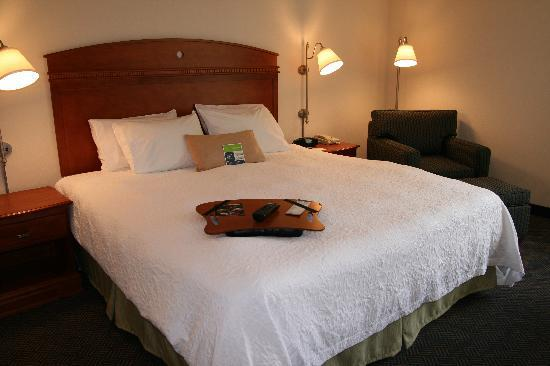 Hampton Inn White River Junction: A clean quiet room-We promise!