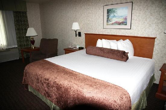 Best Western Plus Cascade Inn & Suites: Unser Zimmer