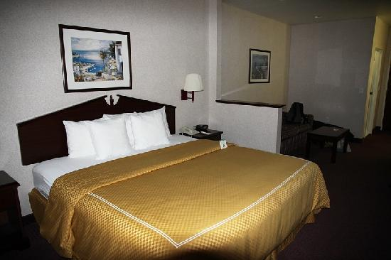 GuestHouse Inn & Suites Portland / Gresham: Das King Bed