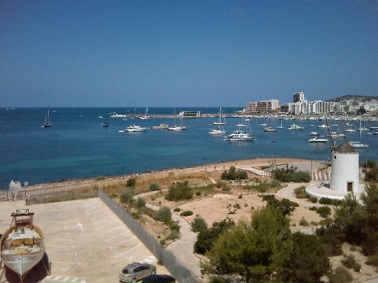 Hotel Neptuno: vista diurna dalla camera dell'hotel