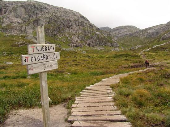 Forsand Municipality, Norwegia: W drodze na Kjerag
