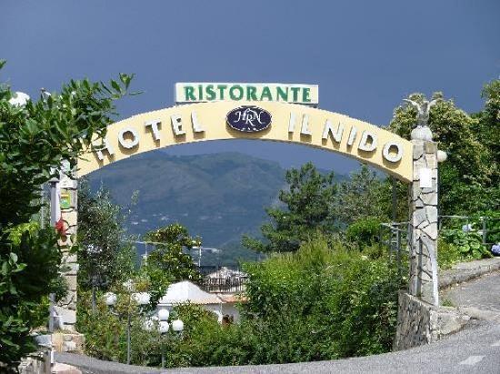 Il Nido Hotel Sorrento: Entrance IL NIDO Sorrento