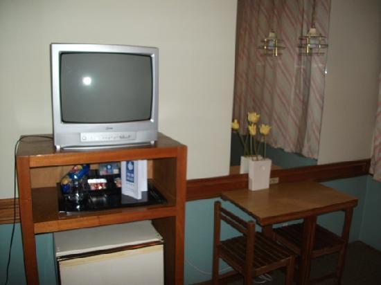 Hotel Foz do Iguacu: Hotel Foz do Iguaçu: a foto não mostra o desgaste