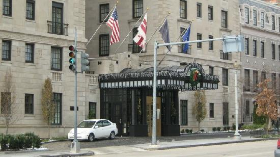The Jefferson, Washington DC: Front of the Jefferson on 16th Street