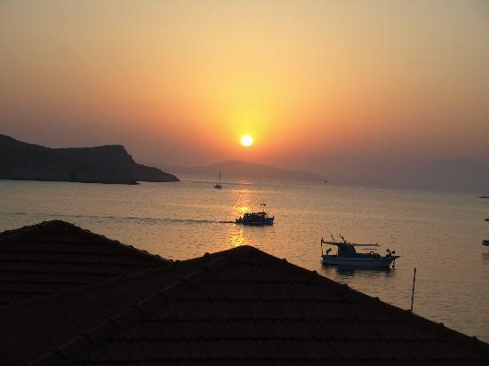 Sunrise in Halki