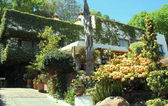 Casa de la Loma Hotel & Spa: Entrada a Casa de la Loma Hotel Morelia