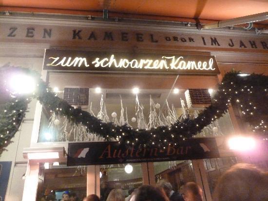 Zum schwarzen kamel zu weihnachten von aussen   picture of zum ...