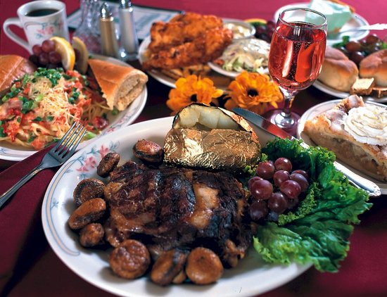 The Tumwater Inn Restaurant: the food is outstanding