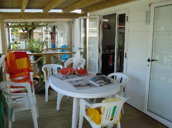Rivanuova Camping Village: Veranda