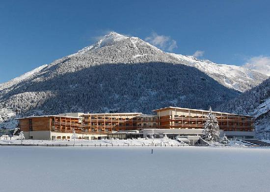 AQUA DOME Hotel : Winterlandschaft