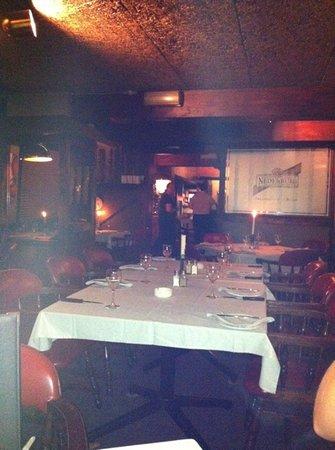 Hillside Tavern Grill: Inside smoking section @ Hillside Tavern