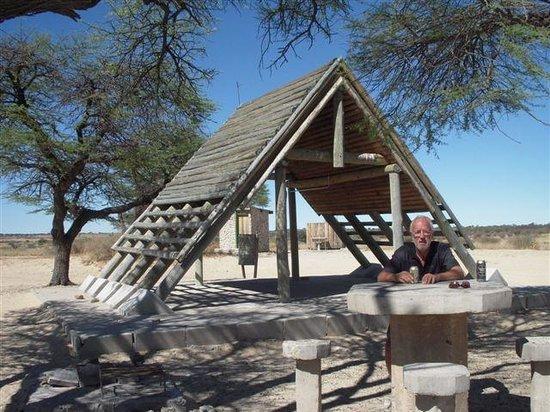Kgalagadi Transfrontier Park, Botswana: Hotel Bar