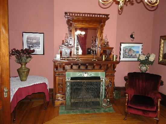 Empfangsraum  des Blomidon Inn