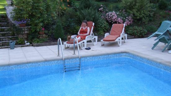 Le Domaine des Ecureuils: La piscine