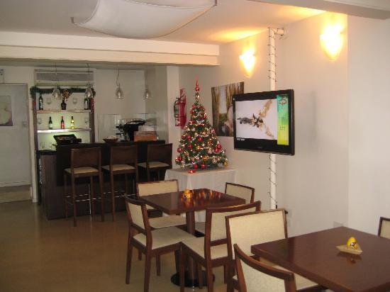 Telmho Hotel Boutique: The breakfast area. 8 am to Noon