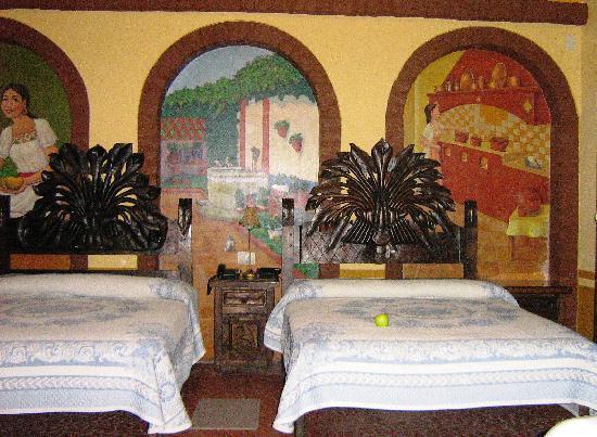 Hotel Margaritas de Sahuayo: Double bedded suite