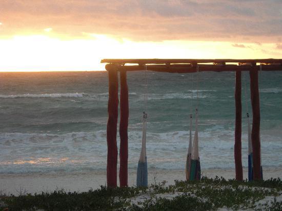 Maya Tulum Resort : sunrise