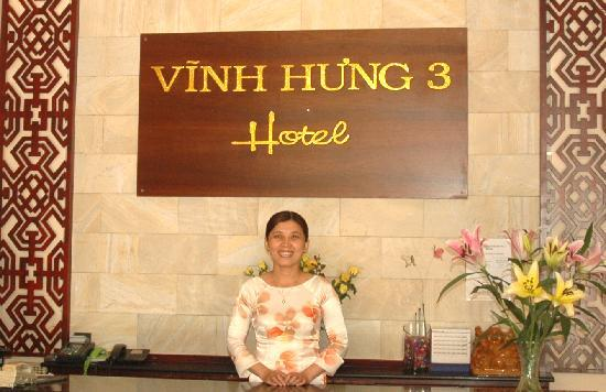 Vinh Hung Library Hotel: reception