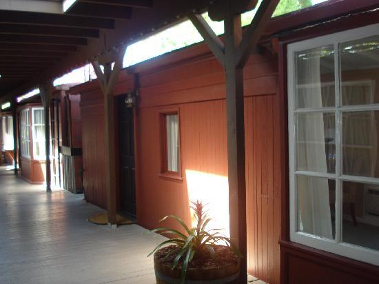 Napa Valley Railway Inn: inn