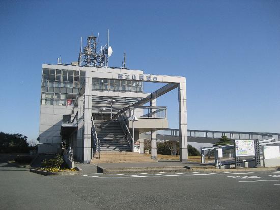 Mt. Zao Observatory: 蔵王山展望台外観