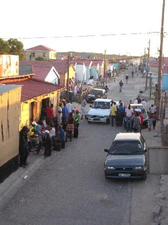"Khayelitsha, South Africa: Across the B&B, the local ""bar"""