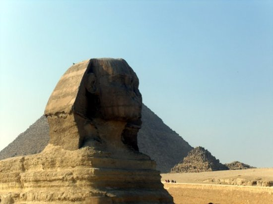 Nabq Bay, Egypt: Sphinx