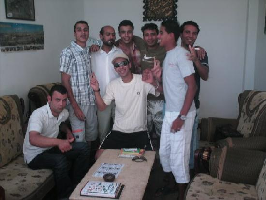 Nabq Bay, Egypt: Some of the Guys (Mody top left)