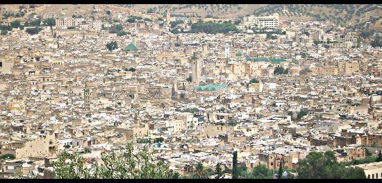 Fes, Marokko: Panoramica de Fez
