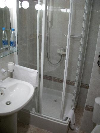 Boutique Hotel Vozdvyzhensky: small bathroom
