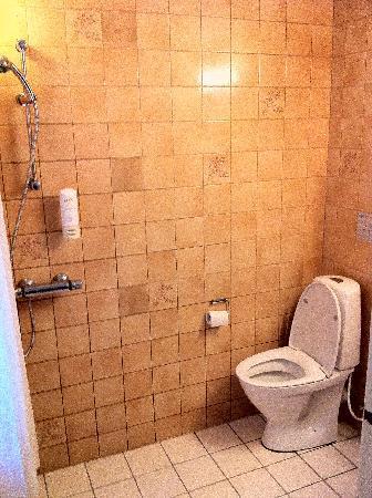 هوتل بيثيل: WC pas de vraie douche