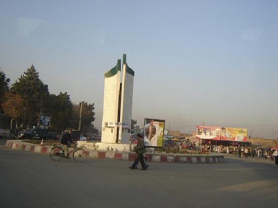 Kabul Province, Afganistan: parwan roundabout