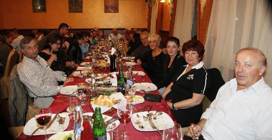 Armenia Hotel: au restaurant de l'hotel
