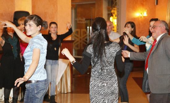 Armenia Hotel: danse