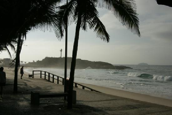 Hotel Arpoador: my breakfast view