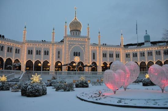 Jardin Tivoli Copenhague