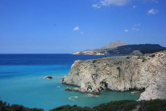 Milos, Greece: vista dall'alto