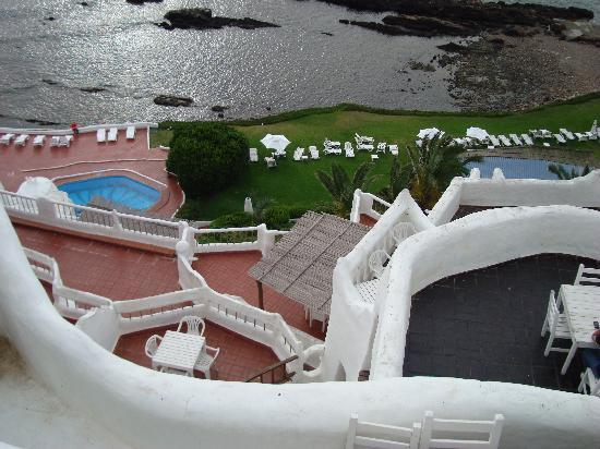 Club Hotel Casapueblo : view from above